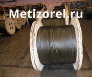Канаты стальные,  тросы грузовые по ГОСТу 7665-80 ф 4, 1 - 56, 0 мм.